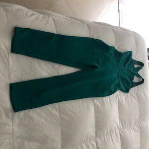 BCBG Green Jumpsuit Size 6